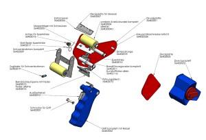 Explosionszeichnung-Profi-Handabroller-161-21402